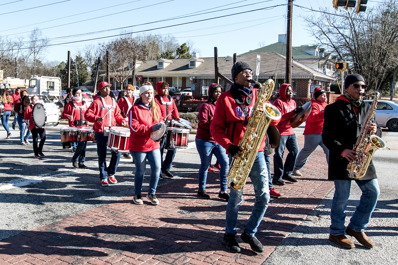 2018 Fayetteville Georgia Martin Luther King Jr Day Parade