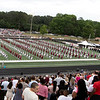 May 28, 2021-Newnan, Georgia-The Northgate High School Class of 2021 Commencement Exercises at Henry Seldon Field.. Speakers introduced by Principal Ken Kesselring include Senior Class President Abigail Rose Collins, Salutatorian Cassie Huynh and Valedictorian William McLane Stephens.<br /> <br /> The commencement exercise is rushed near the end due to an unexpected, heavy downpour of rain.