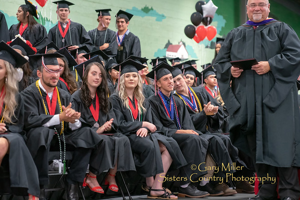 Celebrating Carter Kunert's June 1st 2019 graduation with honors from Tillamook High School © 2019 Gary N. Miller, Sisters Country Photography