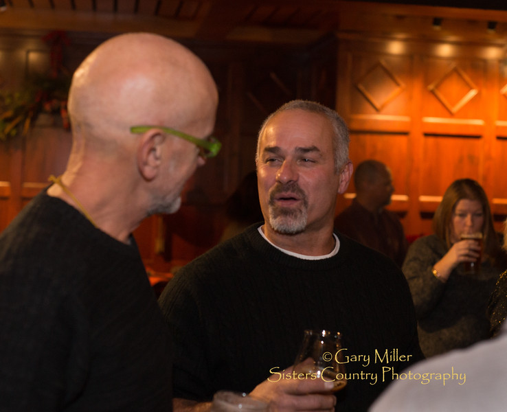 Fivepine Lodge Christmas Party 2014 at Dexhutes Brewery © 2014 Gary N. Miller, Sisters Country Photography