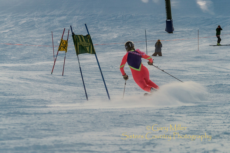 Image taken on Tele-fest 2013 day - January 12, 2013 at Hoodoo Ski Area near Sisters, Oregon - Gary N. Miller - Sisters Country Photography