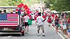 July 4, 2012. Peachtree City, GA. Annual Fourth of July Parade.
