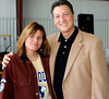 Claudia Clifton with Congressman Lynn Westmoreland. Peachtree City, Georgia. November 15, 2008.