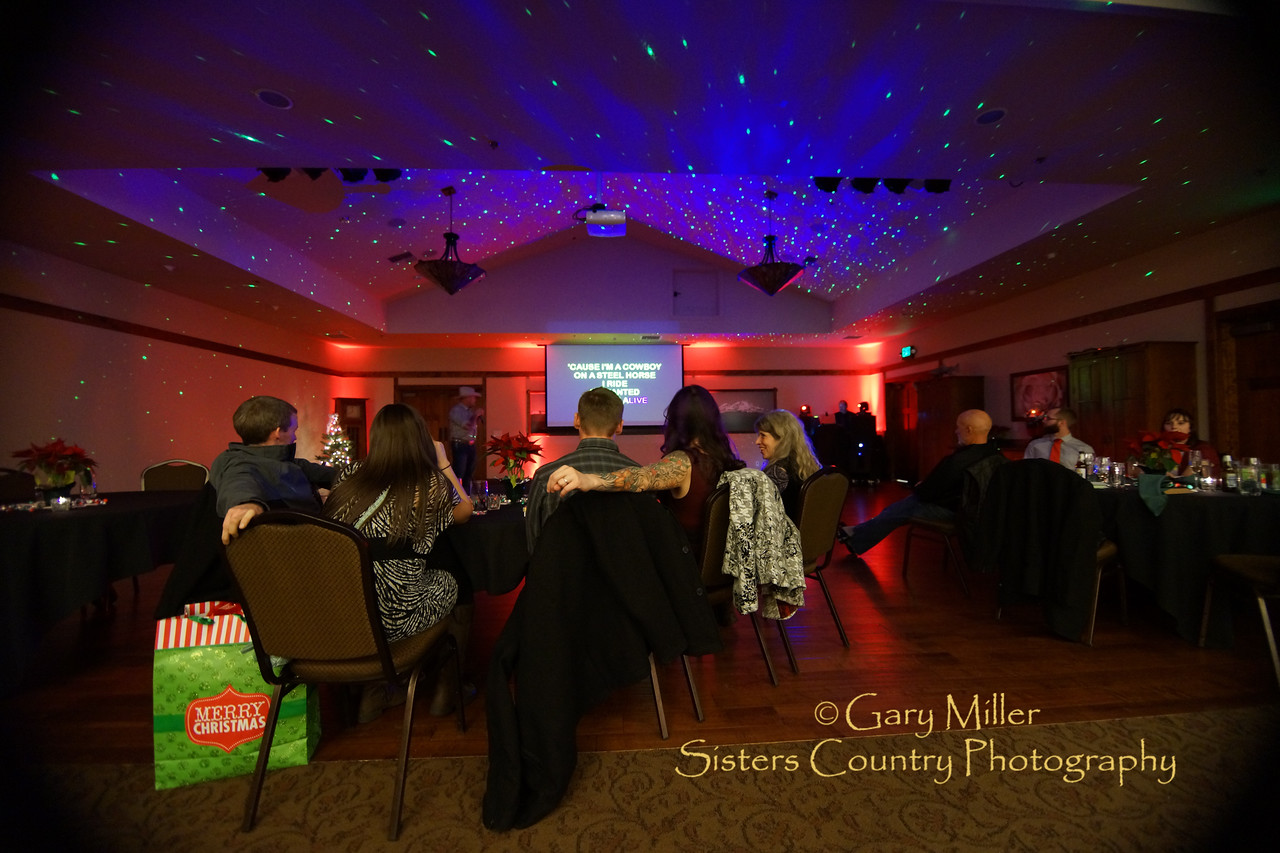 Shibui Spa Christmas Party 2015 © Gary N. Miller, Sisters Country Photography