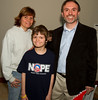 Fayetteville residents, Claudia Clifton and her son, Ira Clifton, meet Georgia Republican Gubernatorial Candidate, Ray McBerry at a meeting of The South Atlanta Tea party Patriots in Peachtree City, Georgia.