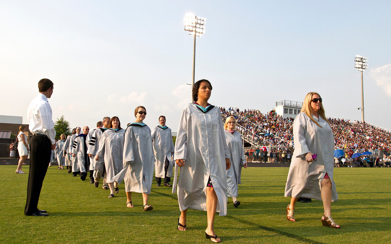 Friday, May 25, 2012. Fayetteville, Georgia. Whitewater High School 2012 graduation.