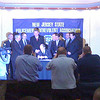Governor John S. Corzine signs the PBA's 180 Day Bill into law at the NJSPBA Mini Convention <br /> March 5, 2009.