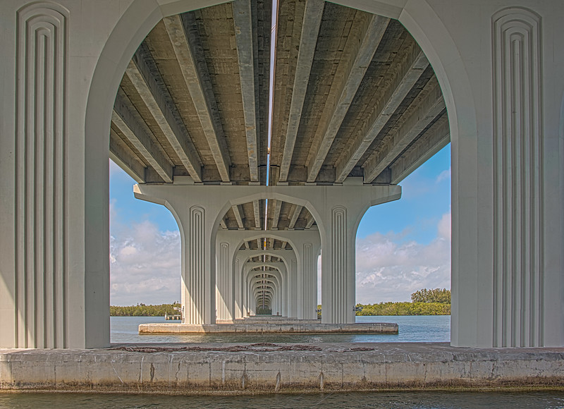 Location - The Merrill P Barber Bridge in Vero Beach