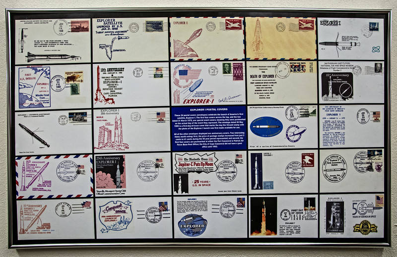 • Launch 26 Blockhouse<br /> • Explorer ! Postal Covers - Stamps back in those days were only 6 cent for Airmail