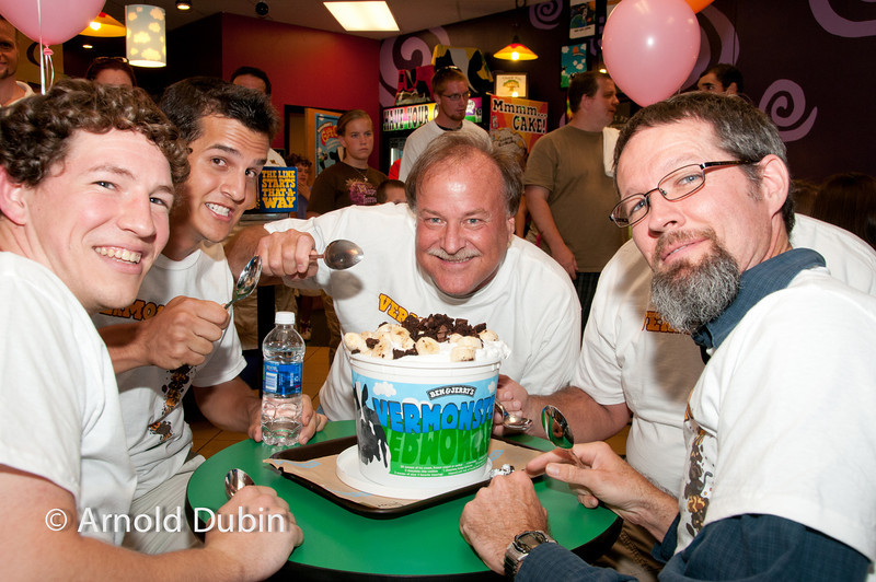 • Ben and Jerry's Ice Cream Eating Contest<br /> •Tuesday, July 12, 2011 at 7:00PM