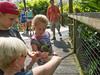 • Location - Brevard Zoo<br /> • Eileen, Josh, Sadie feeding the Lorikeet