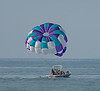 People going out in this boat to go parasailing