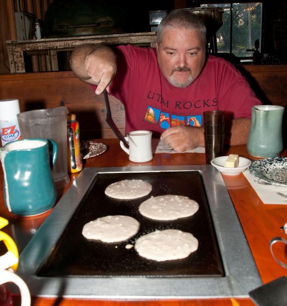 • DeLeon Springs State Park<br /> • Old Spanish Sugar Mill Restaurant<br /> • Robert Wicker having fun cooking our pan cake breakfast