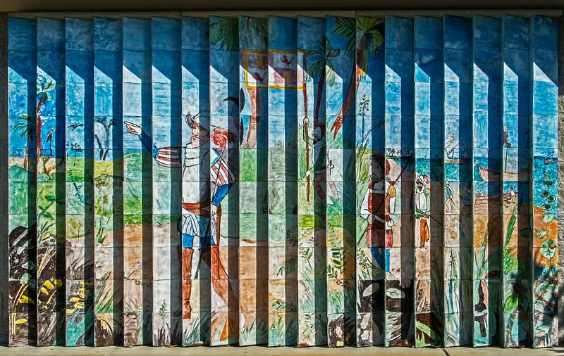 • Location - Juan Ponce de Leon <br /> • Juan Ponce de Leon Mural