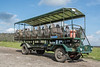 This is the Coach Safari vehicle we road around on to various locations in Florida Forever property.
