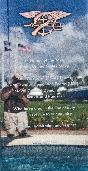• National Navy UDT - Seal Museum<br /> • Look hard and you can see my reflection