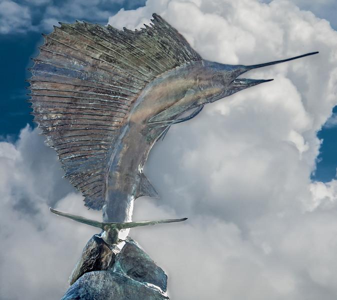 • Historic Ft Pierce<br /> • Metal sailfish