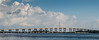 •Veterans Memorial Island Sanctuary at Vero Beach<br /> • View of the Causeway going across the Indian River in Vero Beach from the Sanctuary