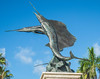 • Historic Ft Pierce<br /> • Pair of Sailfish metal sculptor