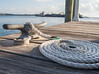 • Fort Pierce City Marina<br /> • Nicely rolled up boat line
