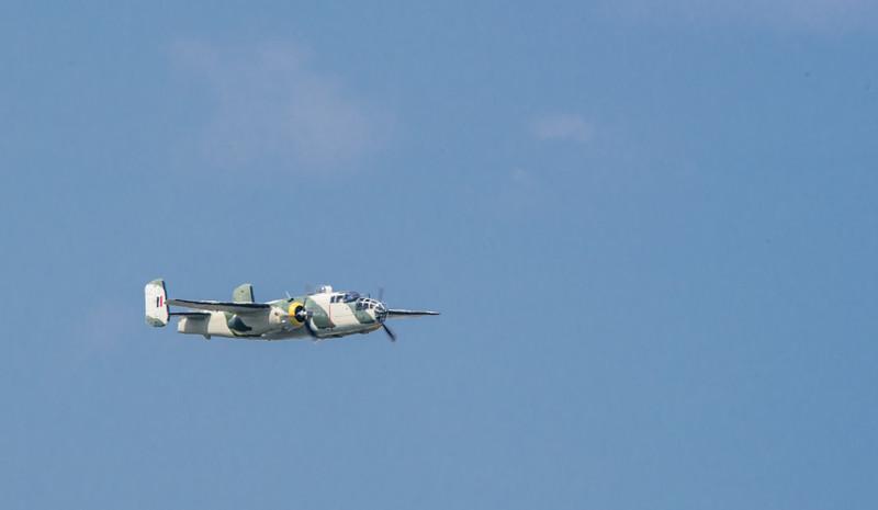 """B-25 Bomber """"Killer B"""""""