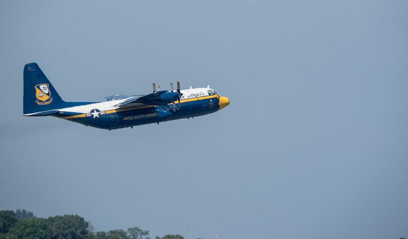 Blue Angels C-130 cargo plane Fat Albert