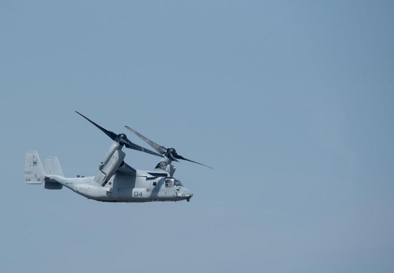 U.S. Marine Corps MV-22 Osprey demonstration