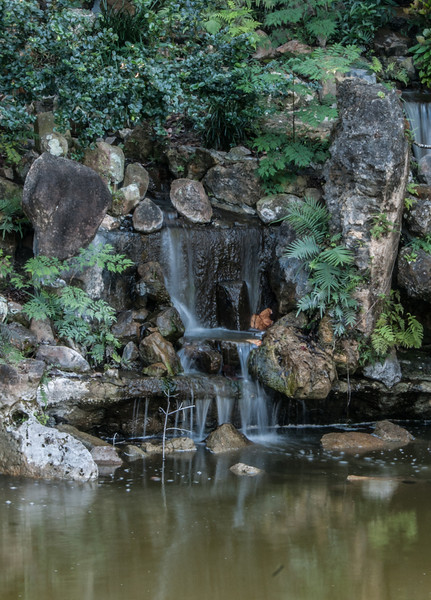 • Morikami Museum and Japanese Gardens<br /> • One of the waterfalls I photographed