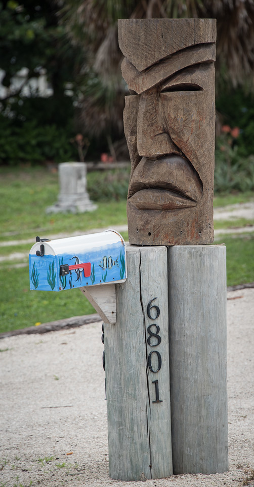 • Location -A1A between Melbourne Beach and Sebastian Inlet<br /> • Totem pole mailbox