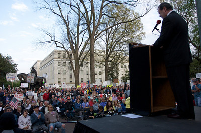 Raleigh Tax Day Tea Party 2009