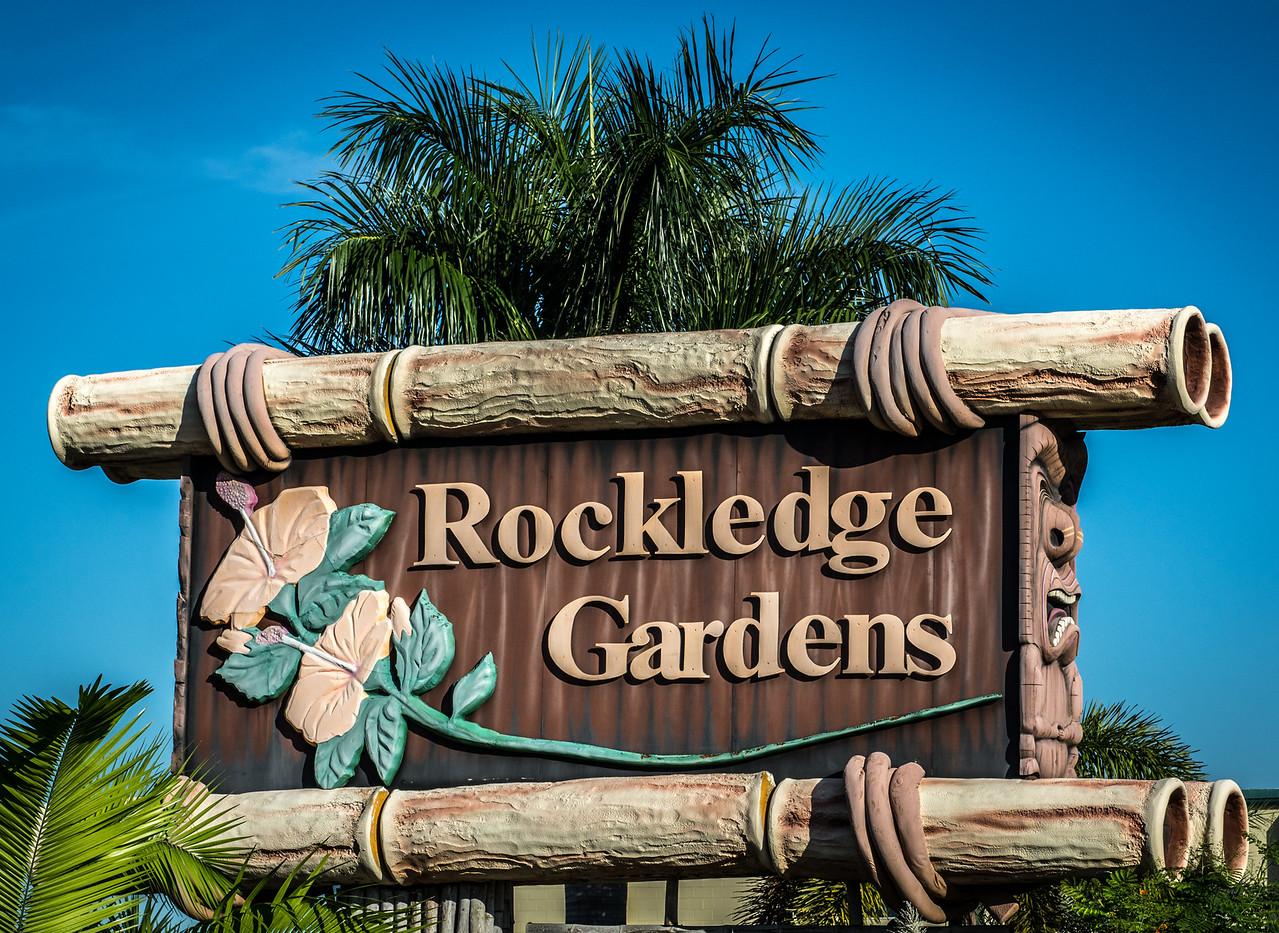 • Location - Rockledge Gardens<br /> • Rockledge Gardens entrance sign