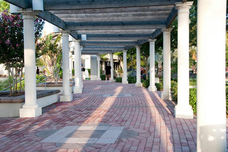 Cocoa Village Amphitheater Walk Way