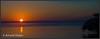 Sunrise taken from Joe Middleton's boat