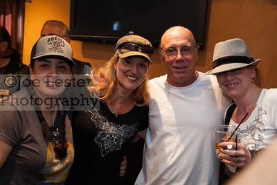 Dayton Callie from TV's Sons Of Anarchy with fans at the Boot Ride, Hollywood, CA. 8-26-12