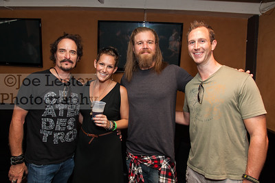 Kim Coates & Ryan Hurst from TV's Sons Of Anarchy with fans at the Boot Ride, Hollywood, CA. 8-26-12