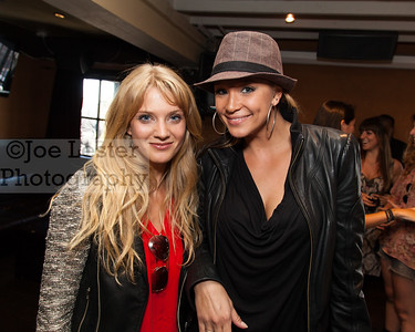 Winter Ave Zoli (L) from TV's Sons Of Anarchy at the Boot Ride, Hollywood, CA. 8-26-12