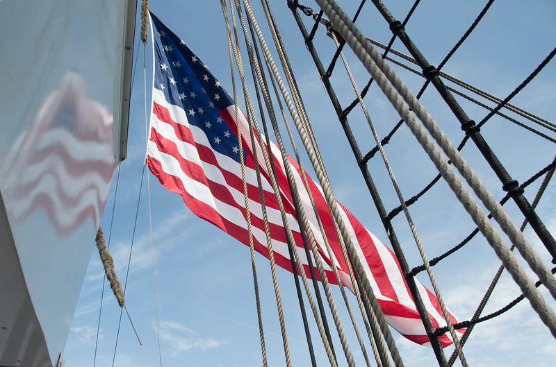Barque Eagle Coast Guard Tall-ship - Location - Cape Canaveral, FL