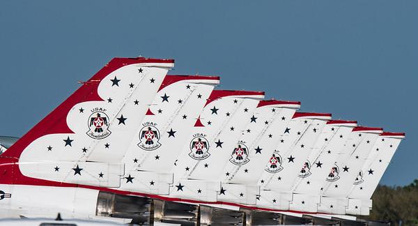 Thunderbird Jet Airshow - March 10, 2017