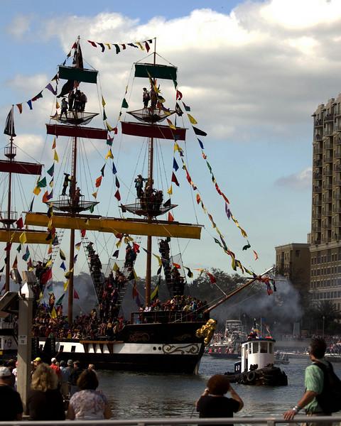 Jose Gasparilla's ship