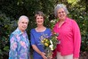 Jean Findley (award winner, center) and her mother & sister at the Plant Conservation Alliance award ceremony and Seeds of Success Memorandum of Understanding signing. Rancho Sanata Ana Botanic Garden in California on June, 25, 2008 during the American Public Gardens Association Annual Conference. Photo by Rancho Santa Ana Botanic Garden.