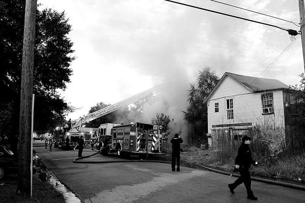 20131107 Abandoned House Fire