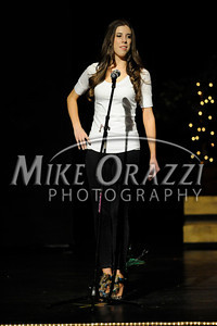 10/19/2013 Mike Orazzi | Staff  Heather Kolodziej at Miss Forestville 2014 at Bristol Central High School on Saturday night.