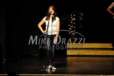 10/19/2013 Mike Orazzi | Staff  Krystie Seese at Miss Bristol 2014 at Bristol Central High School on Saturday night.