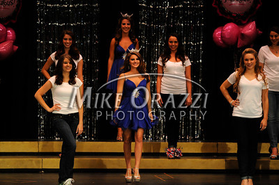 10/19/2013 Mike Orazzi | Staff  Aubrie Pryzbysz Miss Bristol 2013 at Bristol Central High School on Saturday night.