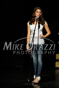 10/19/2013 Mike Orazzi | Staff  Alyscia Talbot at Miss Forestville 2014 at Bristol Central High School on Saturday night.