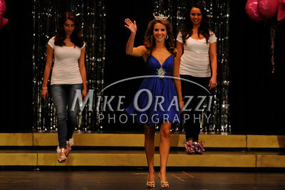 10/19/2013 Mike Orazzi | Staff  Julie Gianoni Miss Forestville at Bristol Central High School on Saturday night.