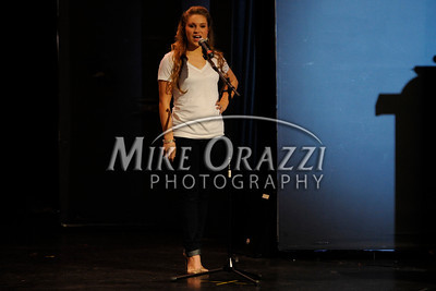 10/19/2013 Mike Orazzi | Staff  Veronica Thibeault at Miss Bristol 2014 at Bristol Central High School on Saturday night.