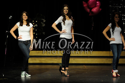 10/19/2013 Mike Orazzi | Staff The Miss Forestville 2014, Miss Bristol 2014, Miss Forestville's Outstanding Teen 2014, Miss Bristol's Outstanding Teen 2014 and Miss Plainville's Outstanding Teen 2014 pageant at Bristol Central High School on Saturday night.
