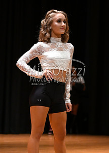 10/21/2017 Mike Orazzi | Staff Miss Forestville 2018 Contestant Micayla Barrows while rehearsing for the Miss Bristol/Forestville Pageant held at the Chippens Hill Middle School Saturday night.