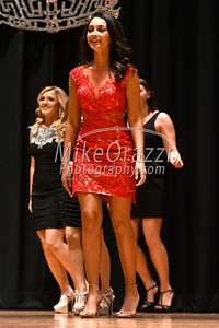 10/21/2017 Mike Orazzi | Staff Miss Bristol 2017 Gina Salvatore during the Miss Bristol/Forestville 2018 Pageant held at the Chippens Hill Middle School Saturday night.